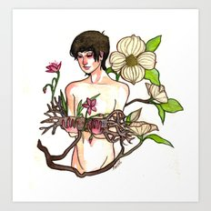 Belladonna Dreams: Deadwood Art Print