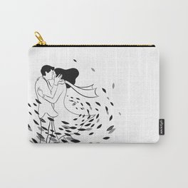 Kissing in the wind Carry-All Pouch