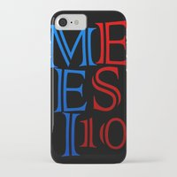 messi iPhone & iPod Cases featuring Messi by Sport_Designs
