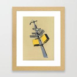 New york 09 Framed Art Print