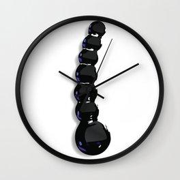 Beaded Dildo Wall Clock