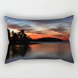 DeGray Lake Sunrise Rectangular Pillow