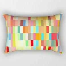 colorful rectangle grid Rectangular Pillow