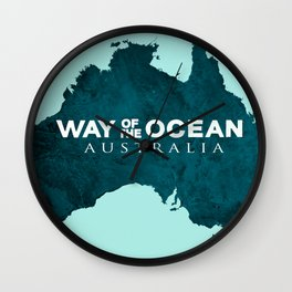WAY OF THE OCEAN - Australia Wall Clock
