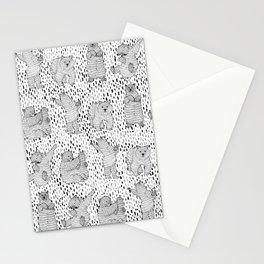 Lazy Bear Stationery Cards