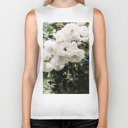 White Roses Biker Tank