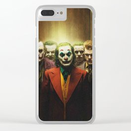 Joker And Friends Clear iPhone Case