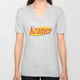 Kramer  - Seinfeld Unisex V-Neck
