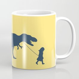 Walking my beast Coffee Mug