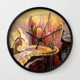 Coruscant Skyline Wall Clock