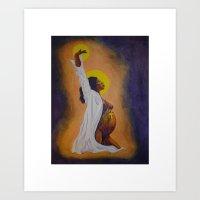 Creation - Goddess Art Print