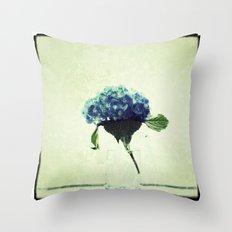 Hydrangea My Favorite Throw Pillow
