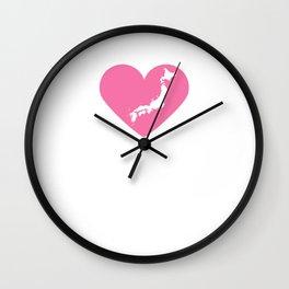 Heart Japan   Love Japan Wall Clock