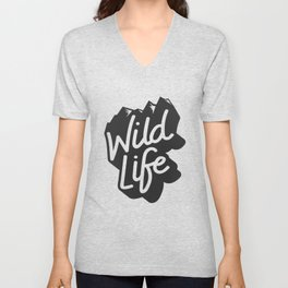 Enjoy the nature wild life Unisex V-Neck