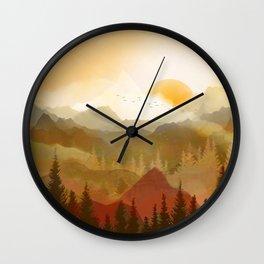 Morning Sun Wall Clock