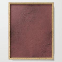 Blush Gold Coppery Pink Gold Leaf Foil Serving Tray
