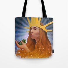 Princess Kiss Tote Bag