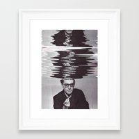 godard Framed Art Prints featuring GODARD, 2015 by Azamat Akhmadbaev
