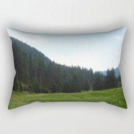 green beautiful nature Rectangular Pillow