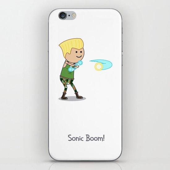 Sonic Boom! iPhone & iPod Skin