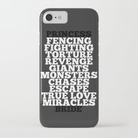princess bride iPhone & iPod Cases featuring Princess Bride by Leah Flores