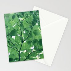 Greenery leaves Stationery Cards