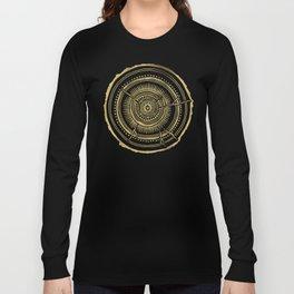 Quaking Aspen – Gold Tree Rings Long Sleeve T-shirt