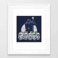 minions Framed Art Prints featuring Stormtrooper Minions by Hugo Martin