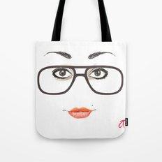 Hipster Eyes 3 Tote Bag