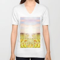 prism V-neck T-shirts featuring PRISM by Kao Intouch