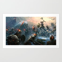 God of War Art Print