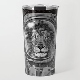 Astronaut Lion Selfie Travel Mug