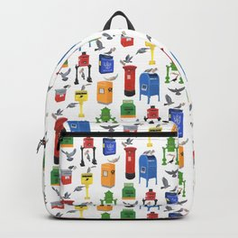 Mailboxes Around the World Backpack