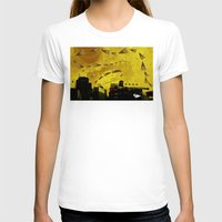 cigarettes T-shirts featuring airplanes and cigarettes by Trevor Bittinger