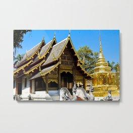 Wat Phra That Doi Suthep Metal Print