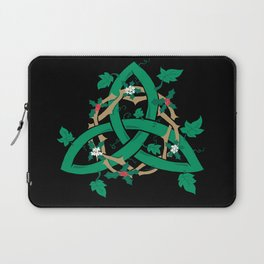 The Holly And The Ivy Laptop Sleeve