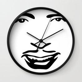 Silent Stars - Douglas Fairbanks Wall Clock