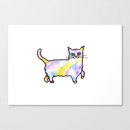 Future Cat Canvas Print