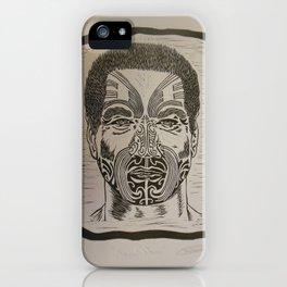 Young Maori iPhone Case