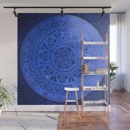 Sapphire Mandala Wall Mural