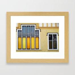 Church Windows Framed Art Print
