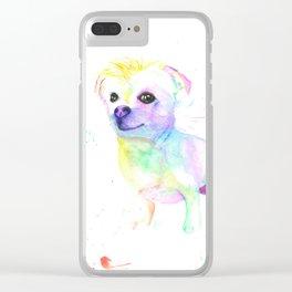 Milo (The Chihuahua Shitzu) Clear iPhone Case