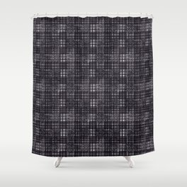 Classical dark cell. Shower Curtain