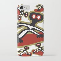 snowboard iPhone & iPod Cases featuring snow, snowboard, mountain, montagna, tavola by Caiocomix