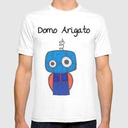 Domo Arigato Mr. Roboto T-shirt