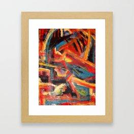 Embracing Chaos Framed Art Print