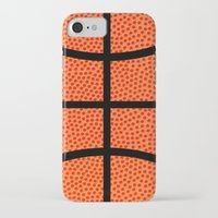basketball iPhone & iPod Cases featuring Basketball by Rorzzer