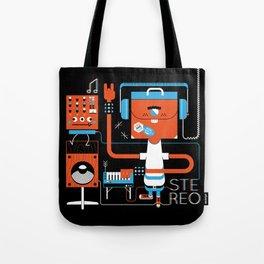 Stereo Found Tote Bag