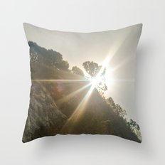 Shine Over Me Throw Pillow