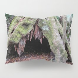 Interesting Tree Trunk Pillow Sham
